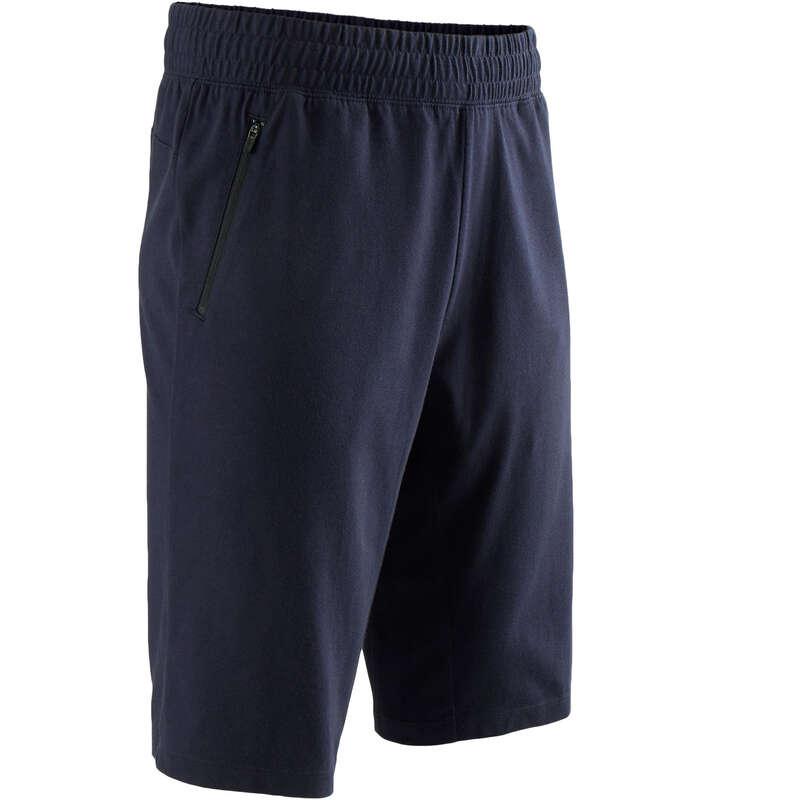 T-SHIRT E SHORT UOMO Ginnastica, Pilates - Pantaloncini uomo gym 520 blu NYAMBA - Abbigliamento uomo