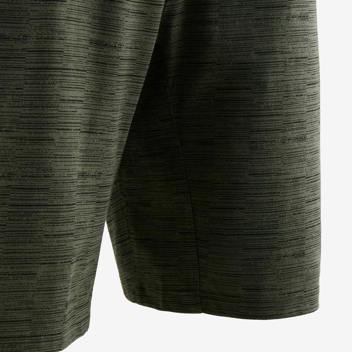 520 Regular-Fit Knee-Length Pilates & Gentle Gym Shorts - Khaki