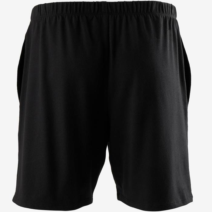 Short de Sport 100 Court Homme Noir