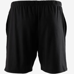 Shorts kurz 100 Regular Gym & Pilates Herren schwarz