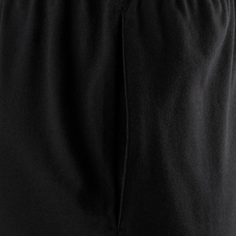 Short 100 regular Pilates y Gimnasia suave negro hombre