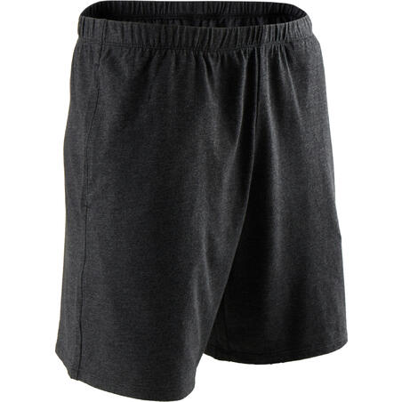 Fitness Short Cotton Shorts - Dark Grey