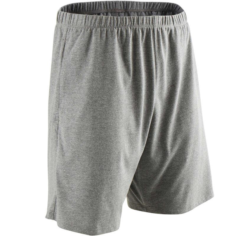 MAN GYM, PILATES APPAREL Clothing - Gym Regular Shorts 100 - Grey NYAMBA - Bottoms