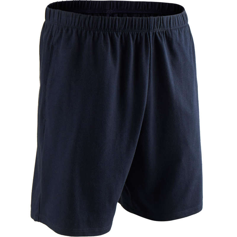 MAN GYM, PILATES APPAREL Clothing - Men's Regular-Fit Gym Shorts DOMYOS - Bottoms