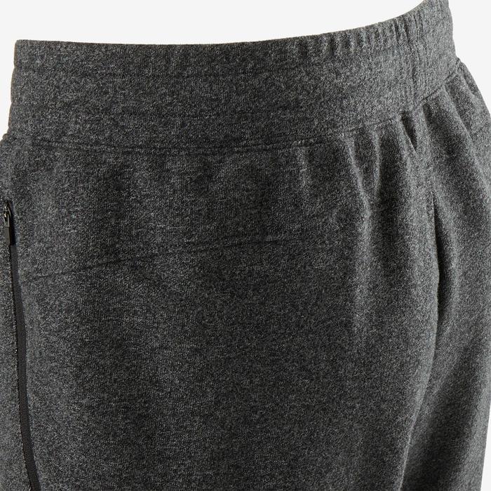 Pantalon de jogging homme slim 500 gris foncé