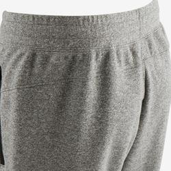 Pantalon de jogging homme slim 500 gris clair