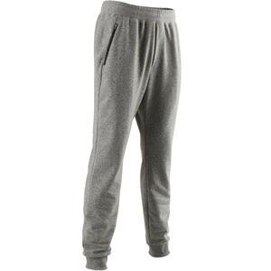bbc0c95a4c9c5 Pant 500 slim Gym gris claro