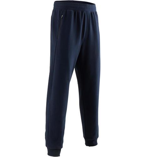 Pantalon de Jogging 500 Homme Bleu Marine