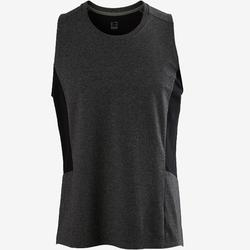 Tank-Shirt 560 Gym & Pilates dunkelgrau