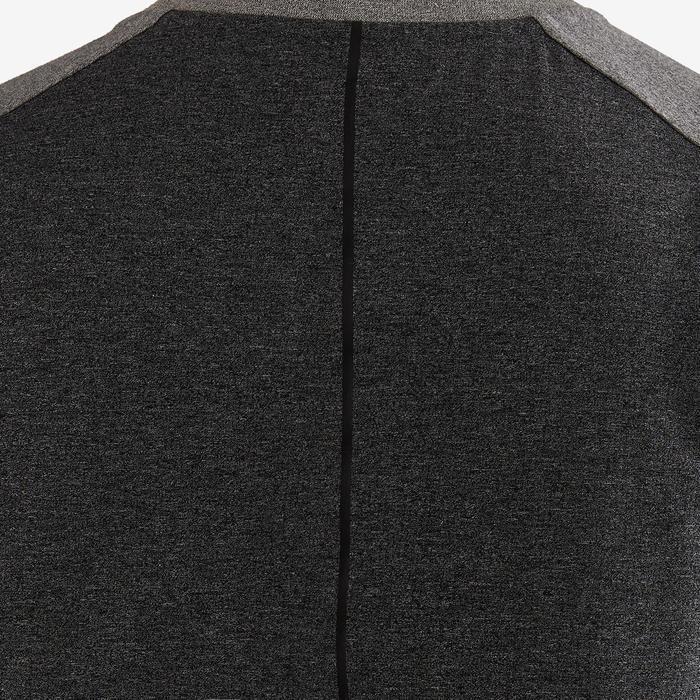 Camiseta sin mangas 560 Pilates y Gimnasia suave hombre gris claro