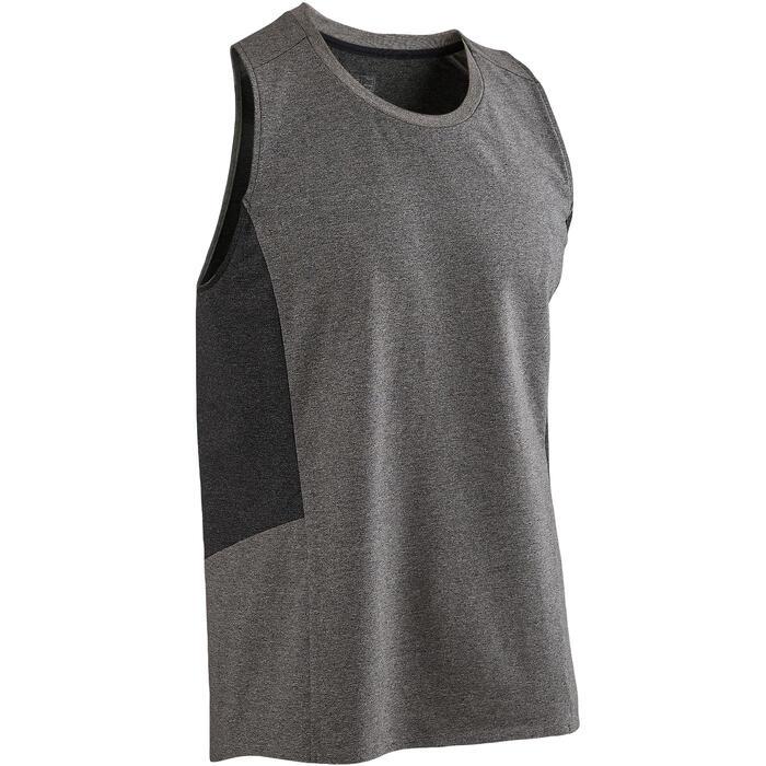Débardeur 560 Pilates Gym douce homme gris clair