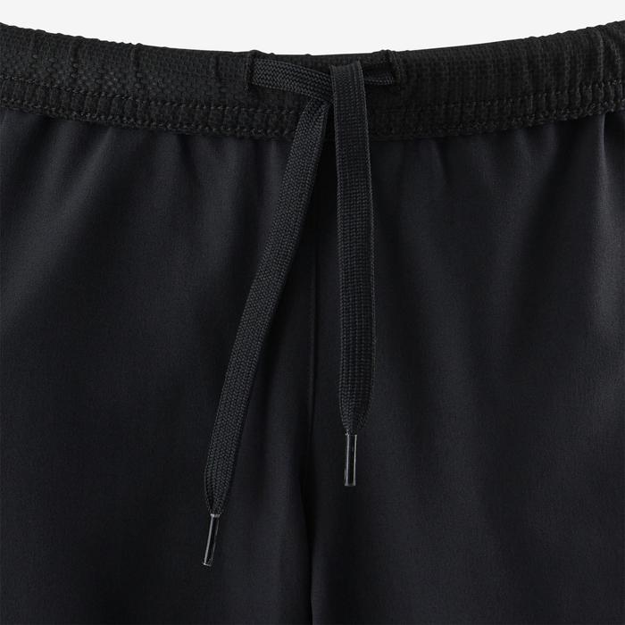 Short dubbel ademend S900 jongens GYM KINDEREN zwart