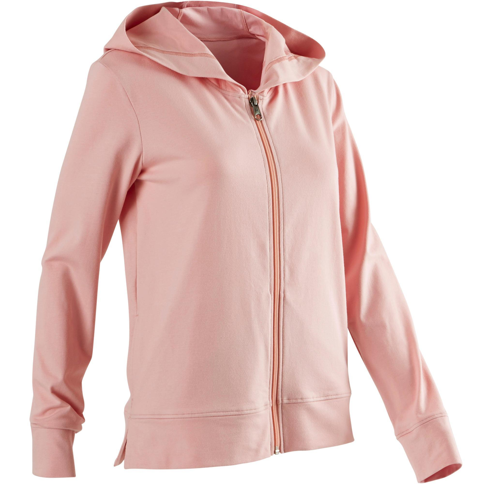 Capuche Femme Rose Veste 100 Douce Vêtements Gym Pilates qGUMpzSV
