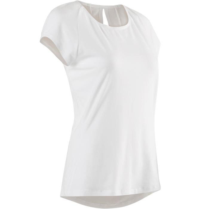 T-Shirt 520 Pilates Gym douce femme blanc