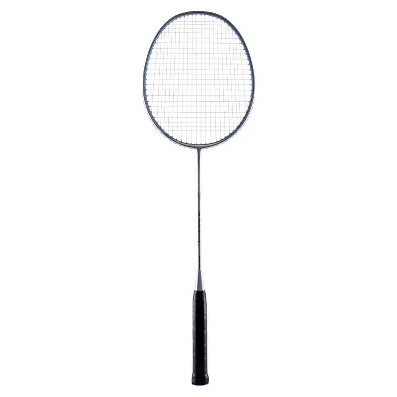 ADULT BEGINNER BADMINTON RACKETS Badminton - BR 190 SLIVER BLUE PERFLY - Badminton