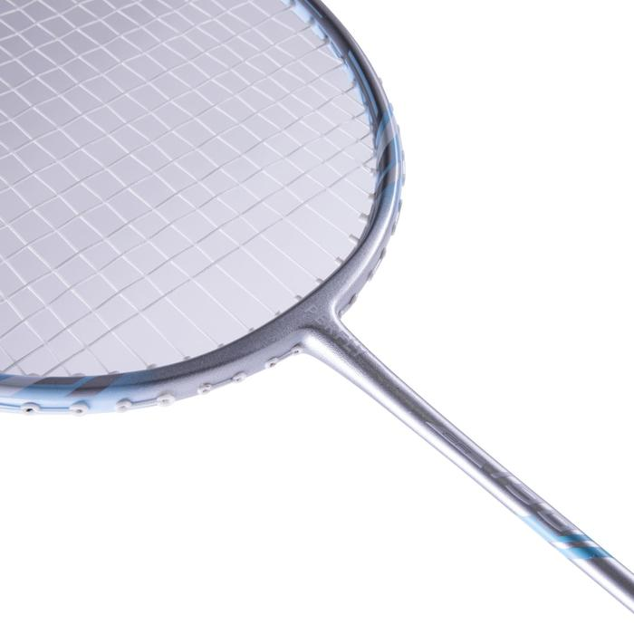Badmintonracket BR190 voor volwassenen zilver/blauw