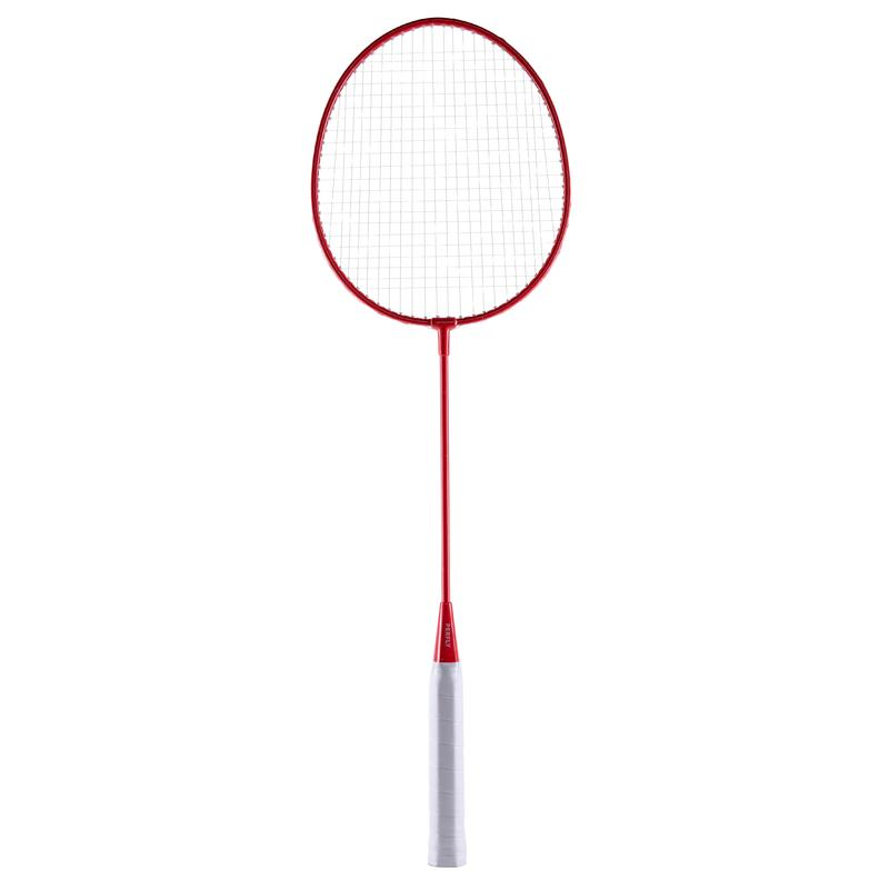 ADULT BADMINTON RACKET OUTDOOR USAGE BR FREE RED