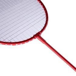 Badmintonracket voor recreatief outdoor gebruik rood