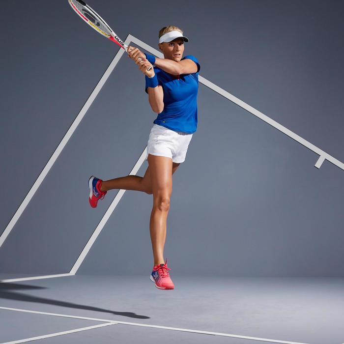 Dames-T-shirt tennis TS Soft 500 blauw