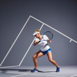 Tennisshirt voor dames TS Soft 500 wit