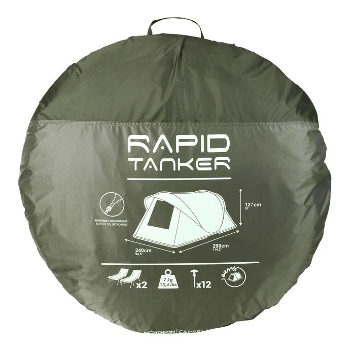 Bivvy Rapid Tanker voor karperhengelen