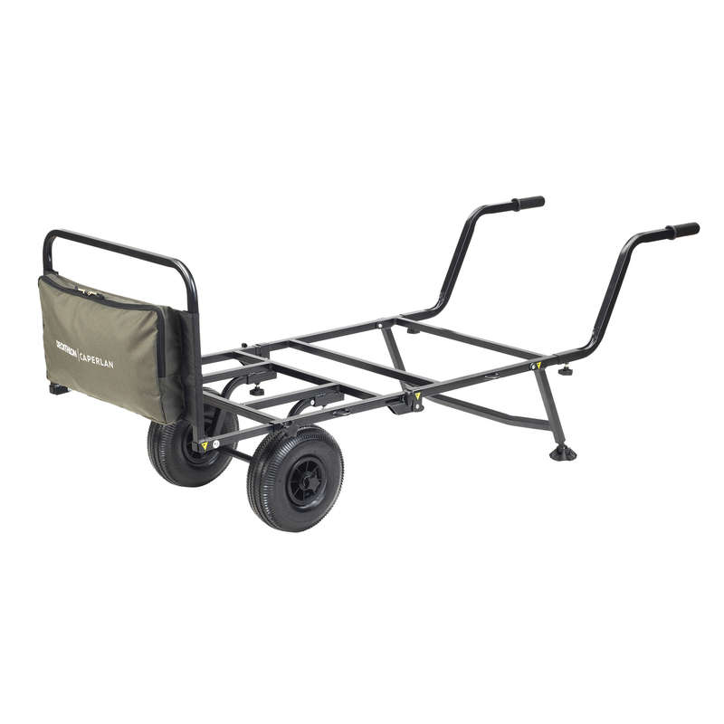 TRASPORTO MATERIALE CARPFISHING Pesca - Carrello BARROW SESSION CAPERLAN - CARPFISHING