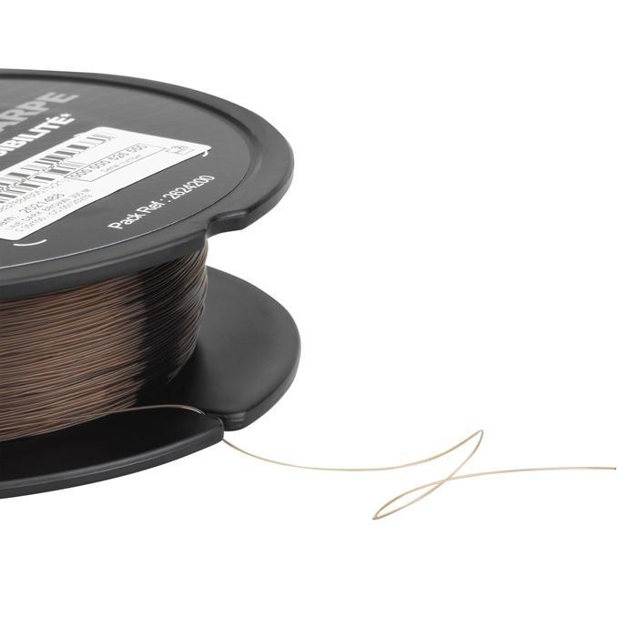 Hauptschnur monofil 1000m Karpfenangeln dunkelbraun