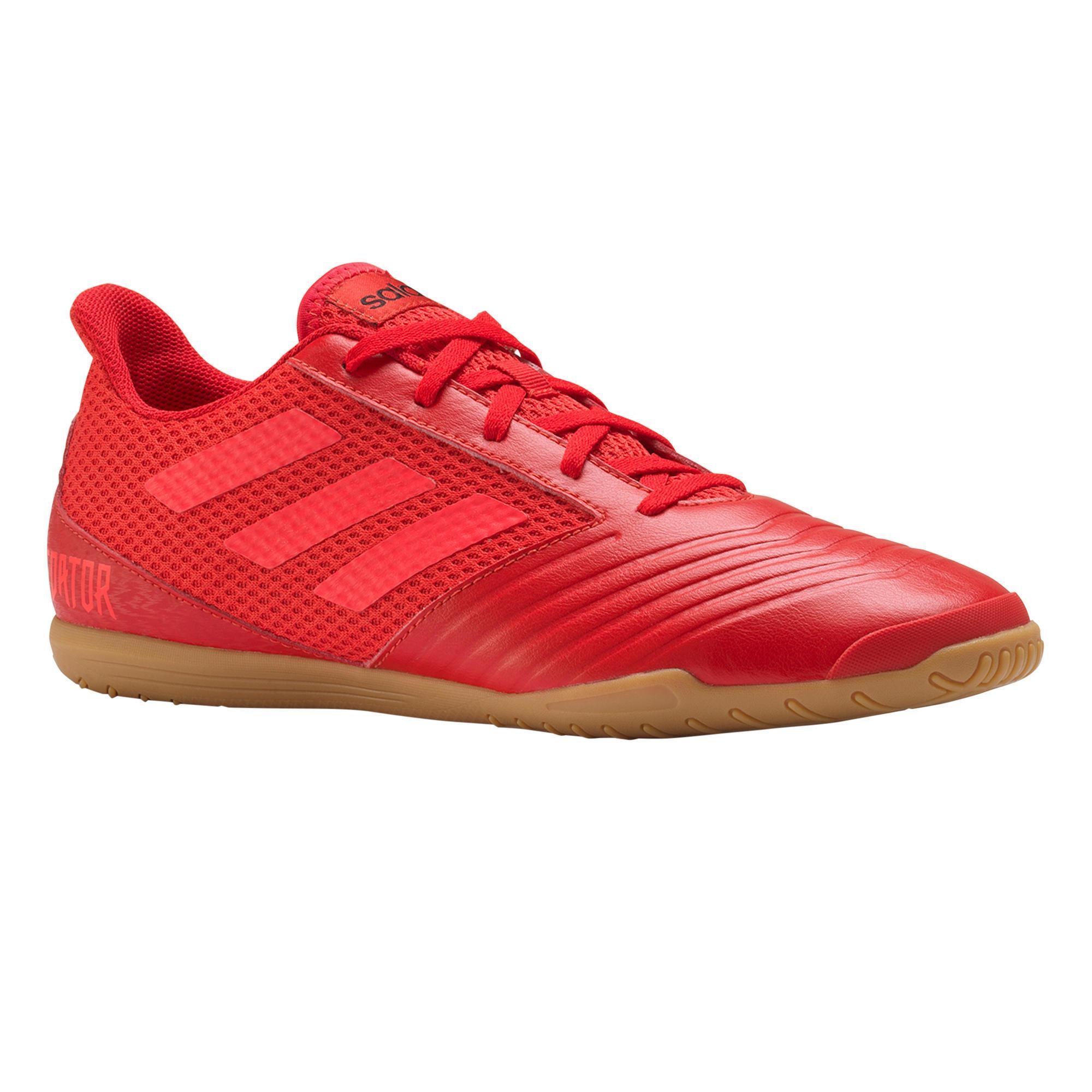 Adidas Zaalvoetbalschoenen Predator Tango 18.4 IC voor volwassenen rood