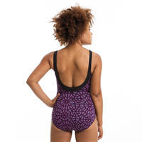 Pink Karli Women's One-Piece Body-Sculpting Aquafitness Swimsuit