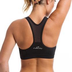 Top de bikini de Aquafitness para mujer Lou Negro