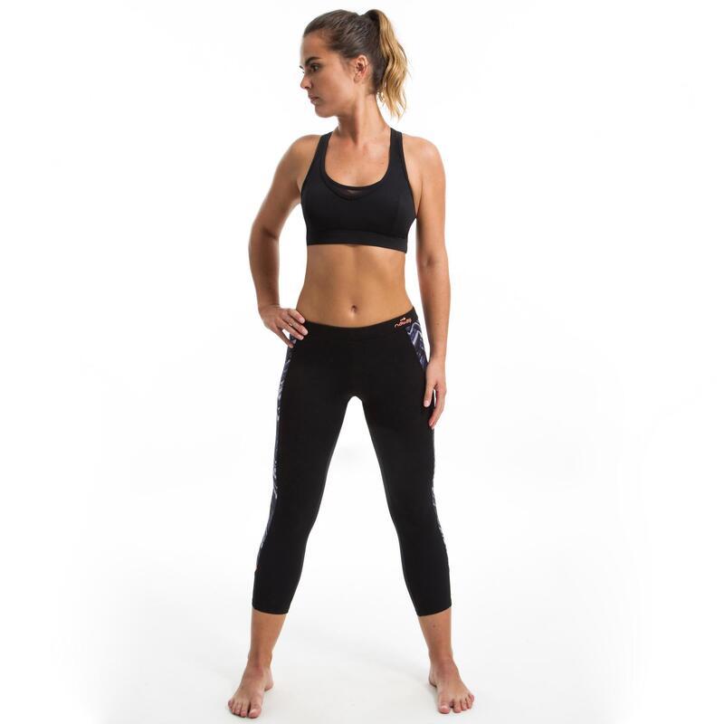 Horní díl plavek Lou na aqua fitness černo-modrý
