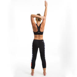 Black women's Aquafitness leggings