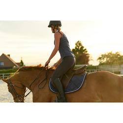 Sattelpad 500 Schaumstoff Pony/Pferd braun