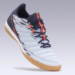 Zapatillas de Fútbol Sala Kipsta Eskudo 500 adulto gris