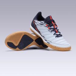 室內五人制足球訓練鞋Eskudo 500-霧灰色