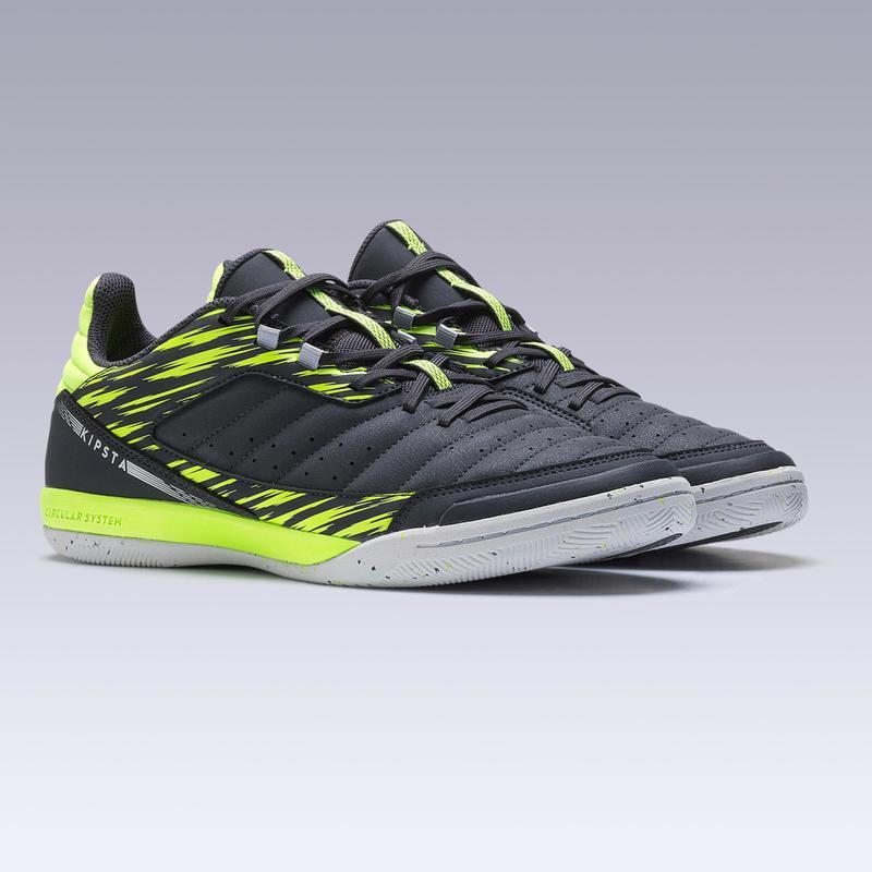 Vente au rabais 2019 thésaurisation comme une denrée rare acheter Chaussures - Chaussures de Futsal ESKUDO 500 gris jaune