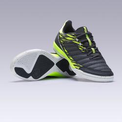 Eskudo 500 Futsal Trainers - Grey/Yellow