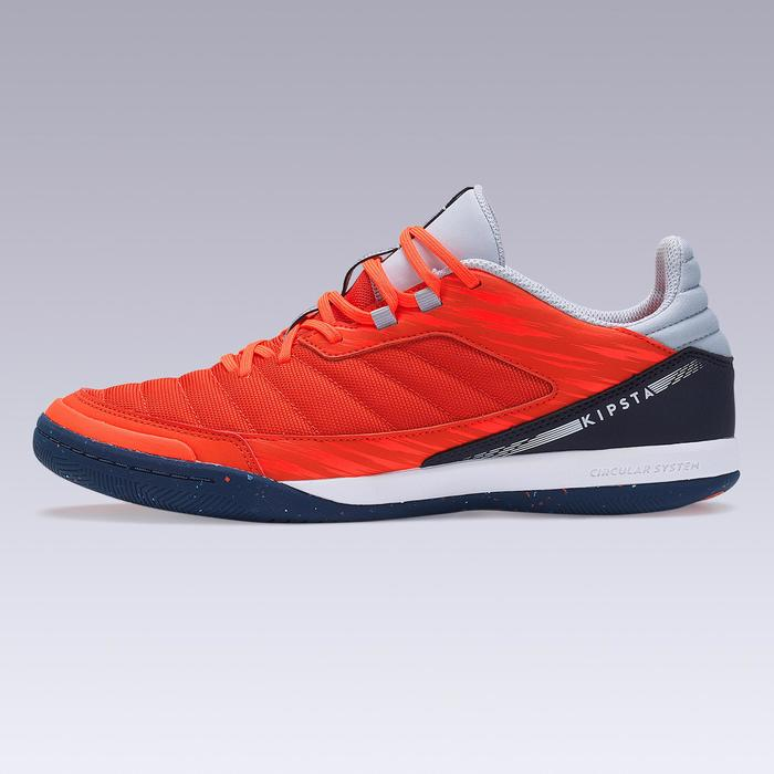 Chaussures de Futsal ESKUDO 500 textile Orange