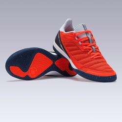 Zaalvoetbalschoenen Eskudo 500 textiel oranje