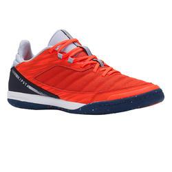 Zapatillas de fútbol sala ESKUDO 500 textil Naranja