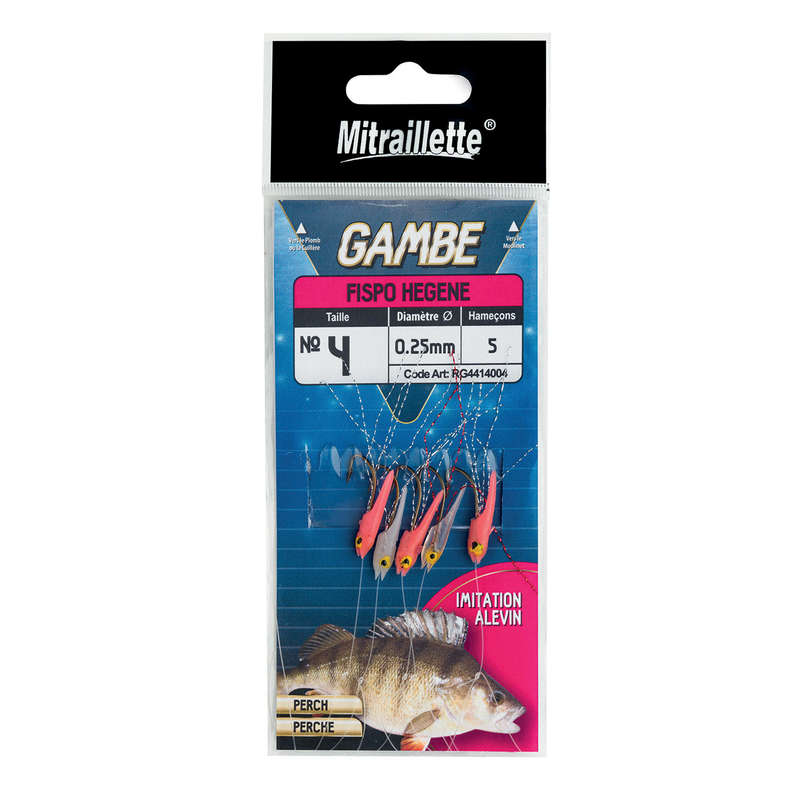 FLYING FISHING - MULTI -HOOK IMITATION LARVAE 4 RAGOT