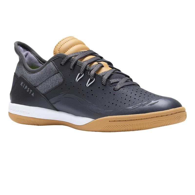 Yetişkin Futsal Ayakkabısı / Salon Ayakkabısı - Gri - ESKUDO 500 BARRIO