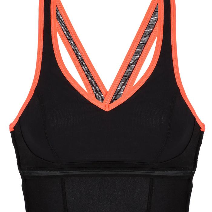 Badeanzug Shorty Aquafitness Lou Damen schwarz