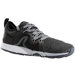 Damessneakers voor sportief wandelen PW 540 zwart