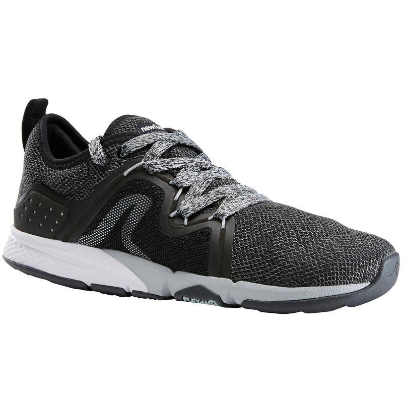 Damessneakers voor sportief wandelen PW 540 Flex-H+ zwart
