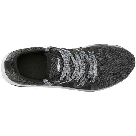 Tenis de caminata deportiva mujer PW 540 Flex-H+ negras