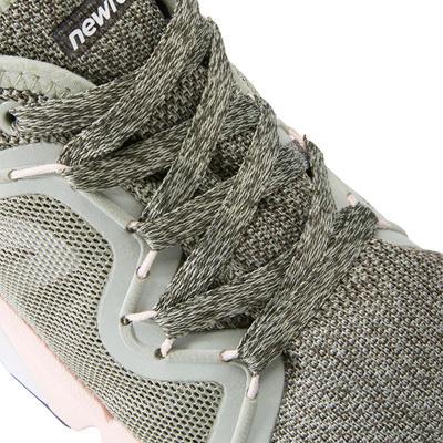 Chaussures marche sportive femme PW 540 kaki / rose