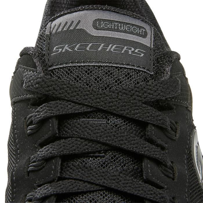 Damessneakers voor sportief wandelen Dual zwart