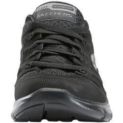 Zapatillas Caminar Dual Full Mujer Negro