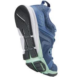Freizeitschuhe Walking PW 540 Komfort Damen blau